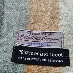 Marshall Field & Company 100% Merino wool scarf